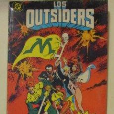 Cómics: LOS OUTSIDERS. RECOPILATORIO. EDICIONES ZINCO. Lote 150306378