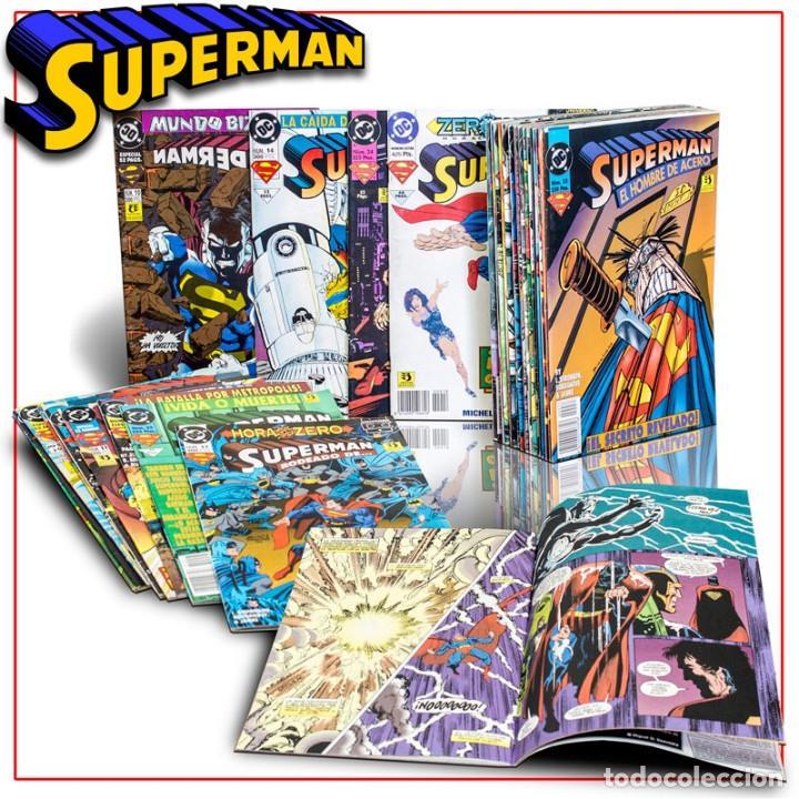 PACK SUPERMAN, EL HOMBRE DE ACERO. 30 CÓMICS - VARIOS AUTORES DESCATALOGADO!!! OFERTA!!! (Tebeos y Comics - Zinco - Superman)