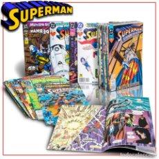 Cómics: PACK SUPERMAN, EL HOMBRE DE ACERO. 30 CÓMICS - VARIOS AUTORES DESCATALOGADO!!! OFERTA!!!. Lote 150365594