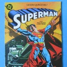 Cómics: SUPERMAN Nº 9 - 1987 (WOLFMAN & ORDWAY) 125 PTS. - 34P. ''BUEN ESTADO''. Lote 150503358