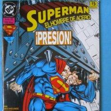 Cómics: SUPERMAN - EL HOMBRE DE ACERO - 1993 ZINCO ''BUEN ESTADO''. Lote 150540418
