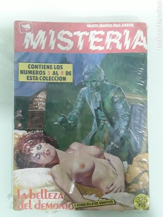 MISTERIA - RELATOS EROTICOS - ED ZINCO RETAPADOS 5 AL 8 (Tebeos y Comics - Zinco - Retapados)