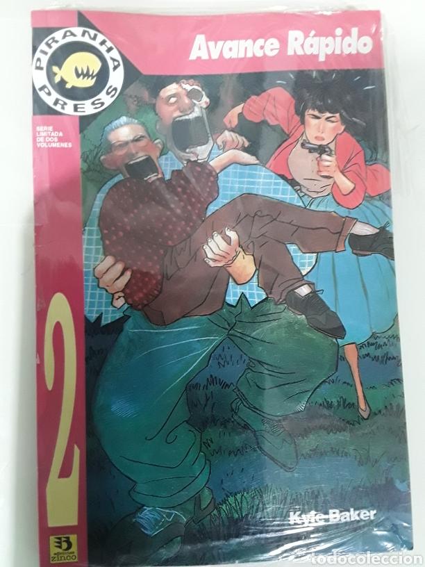 AVANCE RAPIDO VOL 2 KYLE BAKER. ED ZINCO (Tebeos y Comics - Zinco - Prestiges y Tomos)