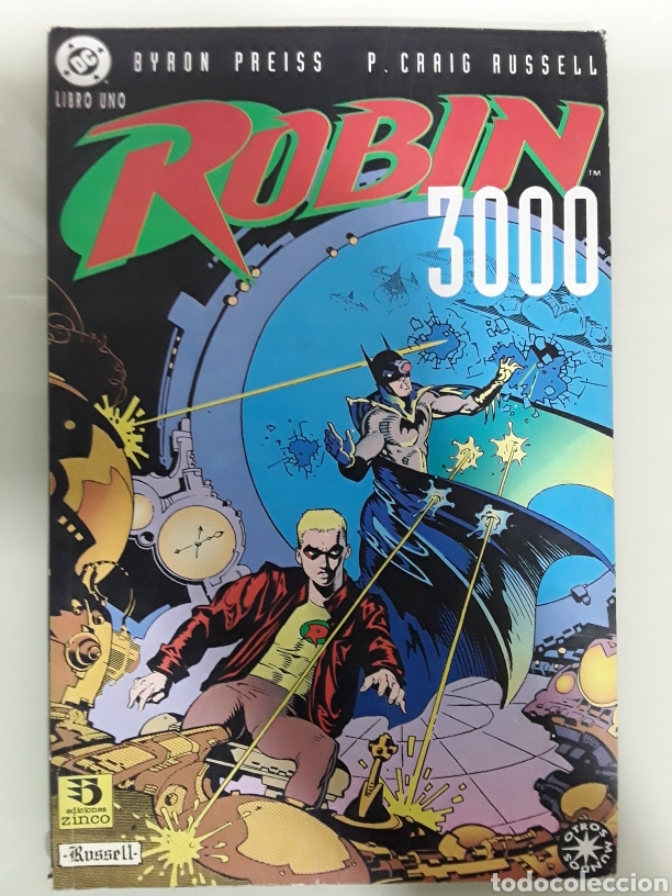 ROBIN 3000 - LIBRO UNO - ED ZINCO (Tebeos y Comics - Zinco - Batman)