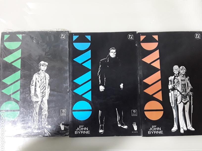 OMAC - JOHN BYRNE ED ZINCO. 3 VOLUMENES (Tebeos y Comics - Zinco - Otros)