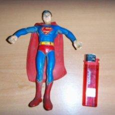 Cómics: FIGURA SUPERMAN GOMA Y ALAMBRE ARGENTINO 1979/80 18 CM APROX. VINTAGE. Lote 150848442