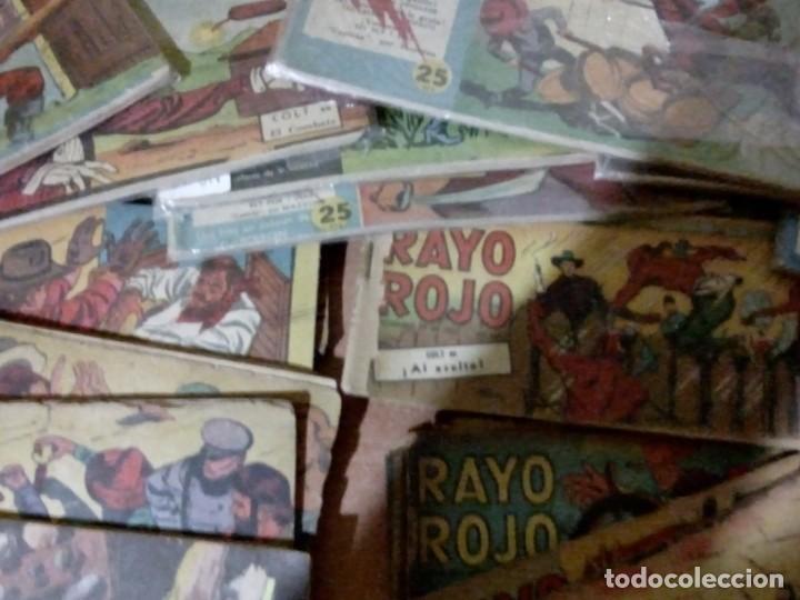 Cómics: Rayo-Rojo-Lote-Numb-40-primeros-Num-Colt-l - Foto 2 - 150848794