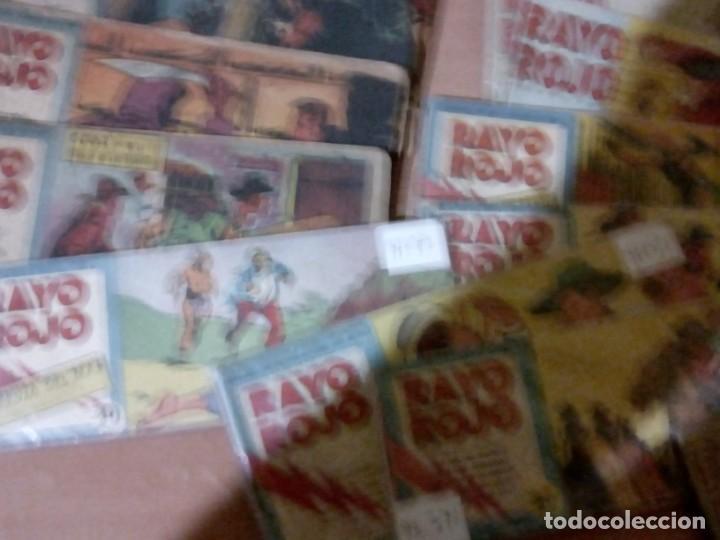 Cómics: Rayo-Rojo-Lote-Numb-40-primeros-Num-Colt-l - Foto 3 - 150848794