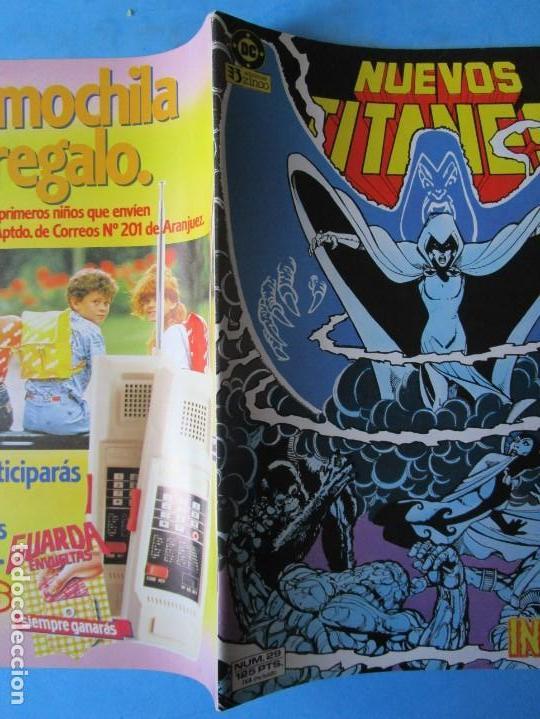 Cómics: NUEVOS TITANES Nº 29 - ZINCO - 1984 - ''MUY BUEN ESTADO'' - Foto 2 - 150850230