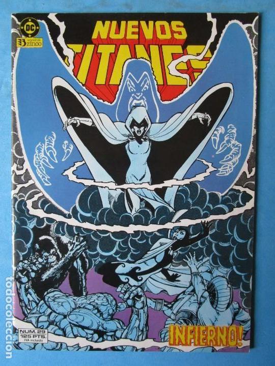 NUEVOS TITANES Nº 29 - ZINCO - 1984 - ''MUY BUEN ESTADO'' (Tebeos y Comics - Zinco - Nuevos Titanes)