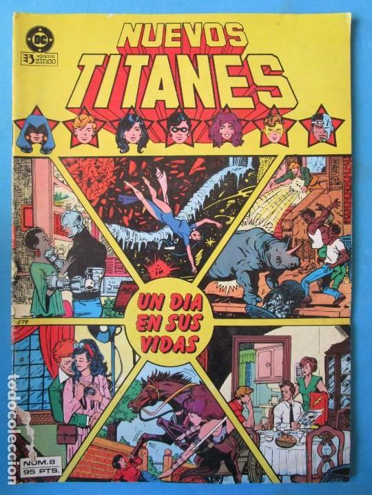 NUEVOS TITANES Nº 8 - 1984 - ZINCO (Tebeos y Comics - Zinco - Nuevos Titanes)