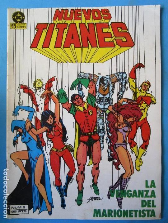 NNUEVOS TITANES Nº 9 - 1984 - ZINCO - 0,99€ (Tebeos y Comics - Zinco - Nuevos Titanes)