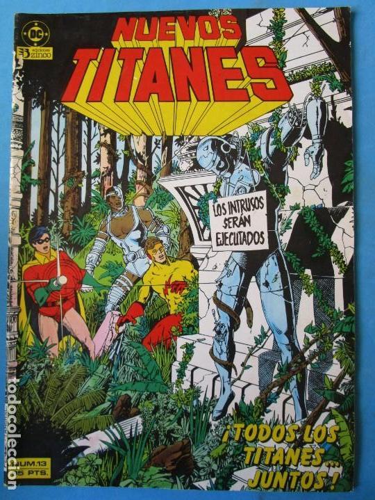 NUEVOS TITANES Nº 13 - 1985 - ZINCO - 0,99€ (Tebeos y Comics - Zinco - Nuevos Titanes)