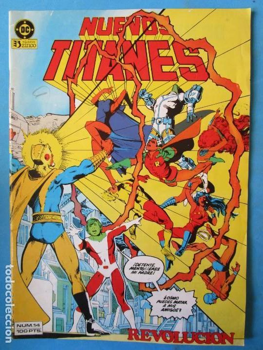 NUEVOS TITANES Nº 14 - 1985 - ZINCO (Tebeos y Comics - Zinco - Nuevos Titanes)