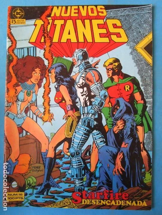NUEVOS TITANES Nº 16 - 1985 - ZINCO (Tebeos y Comics - Zinco - Nuevos Titanes)