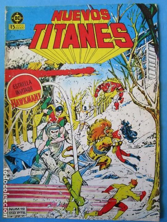 NUEVOS TITANES Nº 19 - 1985 - ZINCO (Tebeos y Comics - Zinco - Nuevos Titanes)