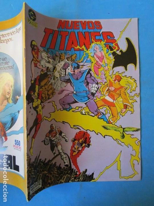 Cómics: NUEVOS TITANES Nº 30 - 1985 - ZINCO ''BUEN ESTADO'' - Foto 2 - 150850922