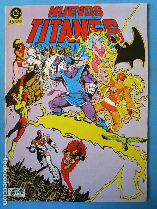 NUEVOS TITANES Nº 30 - 1985 - ZINCO ''BUEN ESTADO'' (Tebeos y Comics - Zinco - Nuevos Titanes)