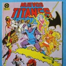 Comics : NUEVOS TITANES Nº 30 - 1985 - ZINCO ''BUEN ESTADO''. Lote 150850922