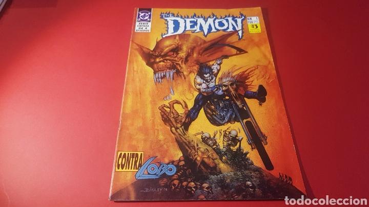 EXCELENTE ESTADO THE DEMON VS LOBO 1 EDICIONES ZINCO DC COMICS (Tebeos y Comics - Zinco - Lobo)