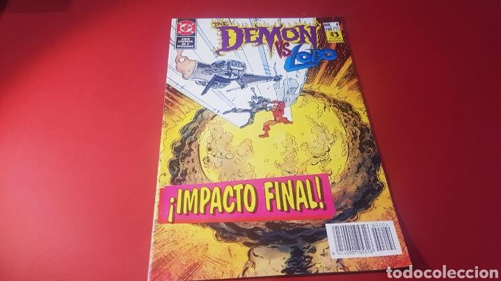 EXCELENTE ESTADO THE DEMON VS LOBO 4 EDICIONES ZINCO DC COMICS (Tebeos y Comics - Zinco - Lobo)