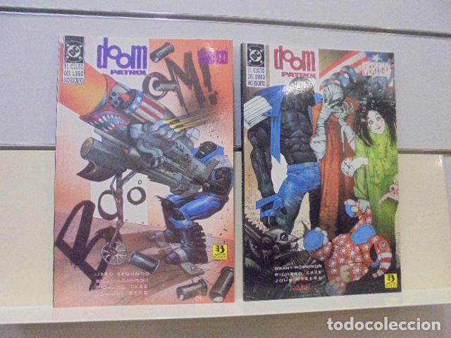 DOOM PATROL EL CULTO DEL LIBRO NO ESCRITO COMPLETA 2 TOMOS - ZINCO - (Tebeos y Comics - Zinco - Patrulla Condenada)