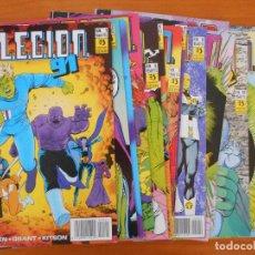 Cómics: LEGION 91 Y 92 COMPLETA - 15 NUMEROS - Nº 1 A 15 - DC - ZINCO (BM). Lote 151096114