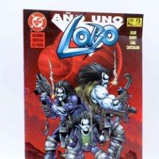 Cómics: LOBO, AÑO UNO. ESPECIAL 52 PÁGS (ALAN GRANT / CARL CRITCHLOW) ZINCO, 1996. OFRT. Lote 151126417
