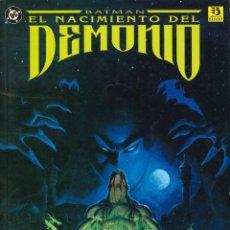 Cómics: BATMAN. EL NACIMIENTO DEL DEMONIO - ZINCO / NÚMERO ÚNICO. Lote 151255922