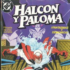 Cómics: HALCÓN Y PALOMA MINISERIE COMPLETA DE 5 NºS. Lote 151320250