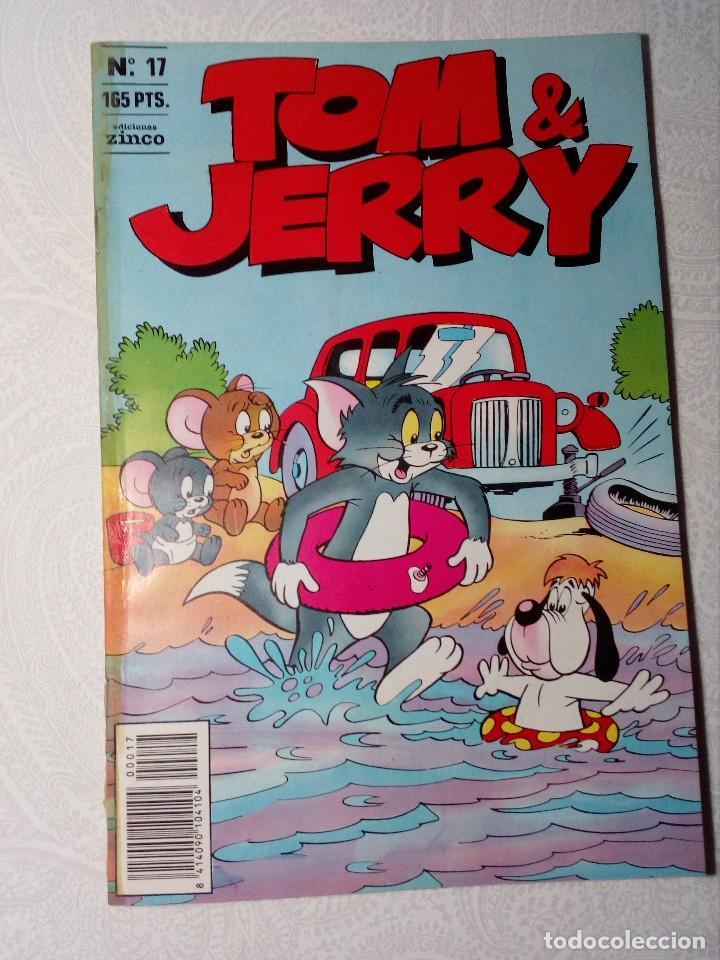 Cómics: PACK 3 COMICS TOM & JERRY (EDICIONES ZINCO) NÚMEROS 16 - 17 Y 21. - Foto 7 - 151524582