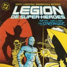 Cómics: LEGION DE SUPERHÉROES- Nº 13 -TEORÍA DE LA CONSPIRACIÓN-1987-LIVITZ-LAROCQUE-BUENO-RARO-0301. Lote 151662810