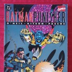 Cómics: BATMAN PUNISHER ZINCO. Lote 151836858
