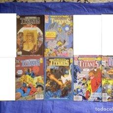 Cómics: 6 COMIC - LOS NUEVOS TITANES - NUMERO 11-13-25-29-32 Y 33 - ZINCO. Lote 76891619