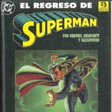 Cómics: EL REGRESO DE SUPERMAN. Lote 152053302