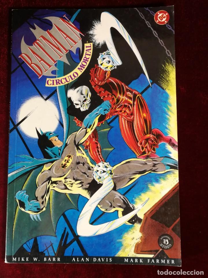 DC ZINCO BATMAN CIRCULO MORTAL (Tebeos y Comics - Zinco - Batman)