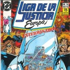 Cómics: LIGA DE LA JUSTICIA EUROPA NÚMERO 16 EDICIONES ZINCO DC. Lote 152281802