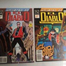 Cómics: UNIVERSO DC EL DIABLO Nº 19 Y 20 - EDITA : EDICIONES ZINCO. Lote 56163414