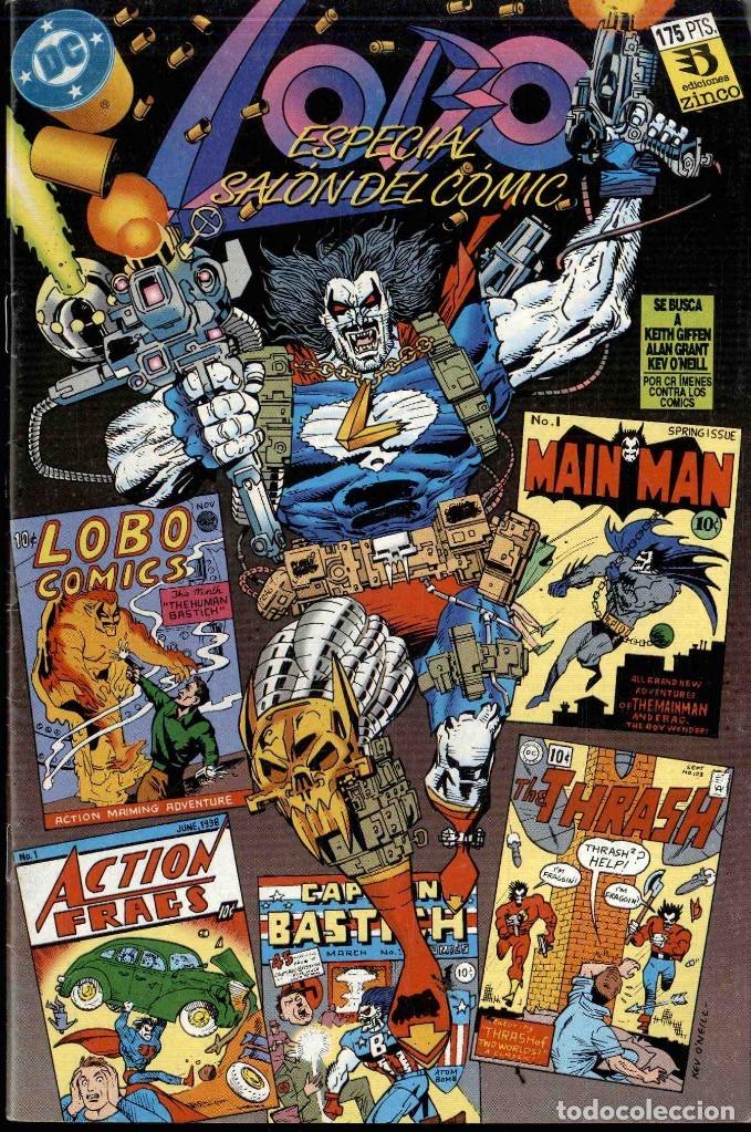 LOBO ESPECIAL SALON DEL COMIC (Tebeos y Comics - Zinco - Lobo)