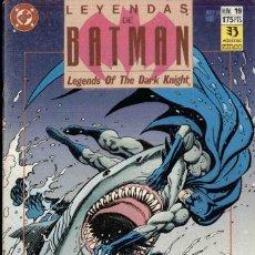 Comics: LEYENDAS DE BATMAN Nº 19 VENENO. Lote 152520238