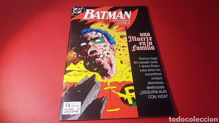 DE KIOSCO BATMAN 3 UNA MUERTE EN LA FAMILIA EDICIONES ZINCO DC (Tebeos y Comics - Zinco - Batman)