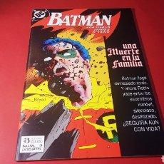 Comics: DE KIOSCO BATMAN 3 UNA MUERTE EN LA FAMILIA EDICIONES ZINCO DC. Lote 215930737