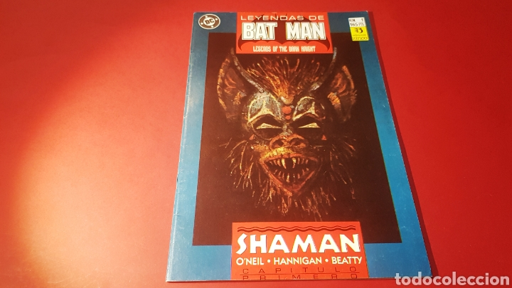 EXCELENTE ESTADO LEYENDAS DE BATMAN 1 SHAMAN CAPITULO PRIMERO LEGENDS OF THE DARK KNIGHT ZINCO (Tebeos y Comics - Zinco - Batman)