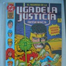 Cómics: LIGA DE LA JUSTICIA DE AMÉRICA #1 EL REGRESO DE LA LIGA DE JUSTICIA DE AMÉRICA (ZINCO, 1994). Lote 140836718