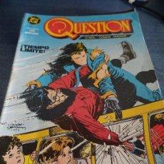 Cómics: QUESTION Nº 3. ZINCO. Lote 152904634