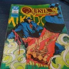 Cómics: QUESTION Nº 8 ZINCO. Lote 152904842