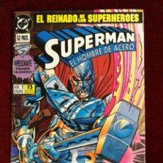 Fumetti: DC ZINCO SUPERMAN VOL. 3 EL HOMBRE DE ACERO Nº 1 ¡RENACIDO!. Lote 153044482