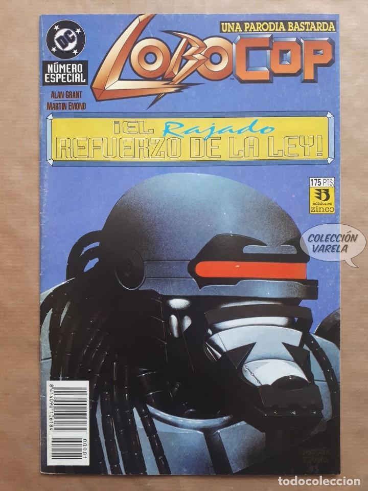 LOBOCOP - EL RAJADO REFUERZO DE LA LEY - ZINCO - JMV (Tebeos y Comics - Zinco - Lobo)