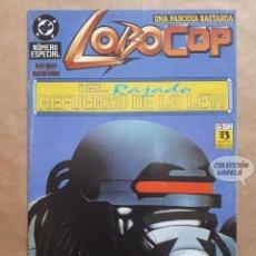 Cómics: LOBOCOP - EL RAJADO REFUERZO DE LA LEY - ZINCO - JMV. Lote 153116890