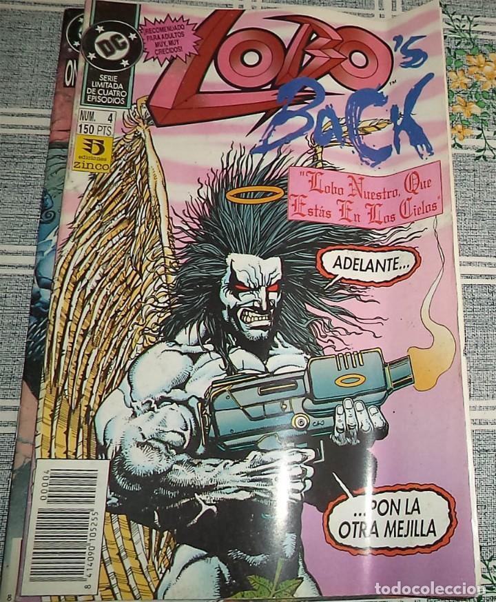 LOBO BACK N.º 4 DE 4 ED. ZINCO DC (Tebeos y Comics - Zinco - Lobo)